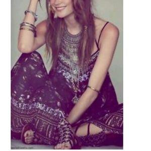 Free People Wild Divine Embellished Maxi Dress